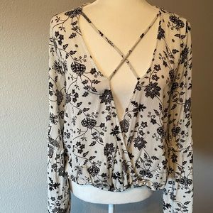 Black & White top from Altard  State size small